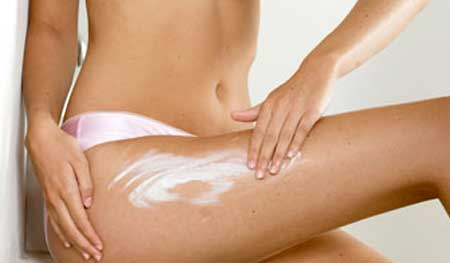 Moisturizing creams for cellulite