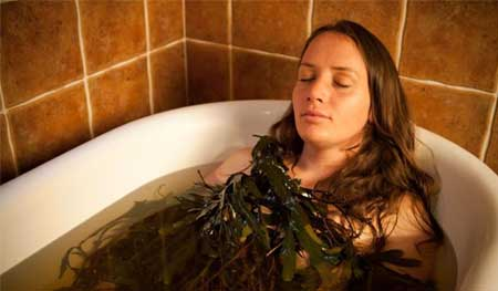 Seaweed bath for Cellulite