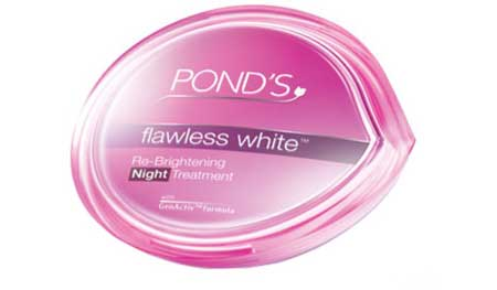 Ponds Flawless White Re-Brightening Night Treatment