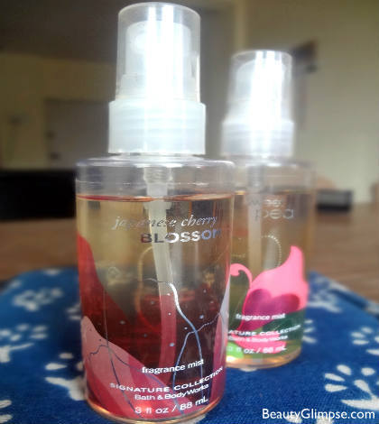 Bath and Body Works Body Mist Review