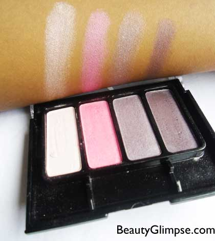 Faces Go Chic Eye Shadow Quad Review