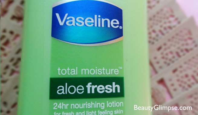 Vaseline Aloe Fresh Hydrating Body Lotion Review