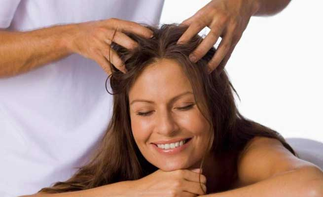 hair massaging