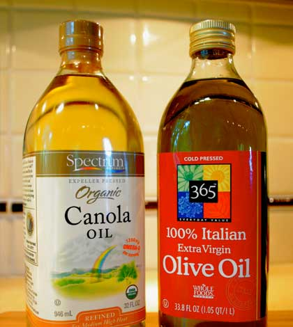 Olive Oil or Canola Oil