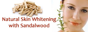 Beauty Problem - Ask the ExpertNatural Skin Whitening with Sandalwood Face Pack