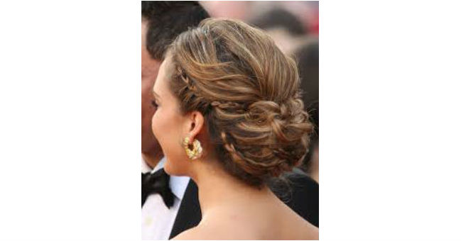 Braided Low and Messy Bun