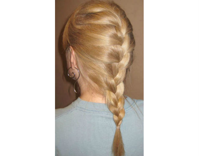 Classic French Braided Hair