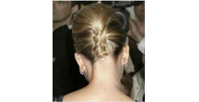 Classic Up-Do with French Twist