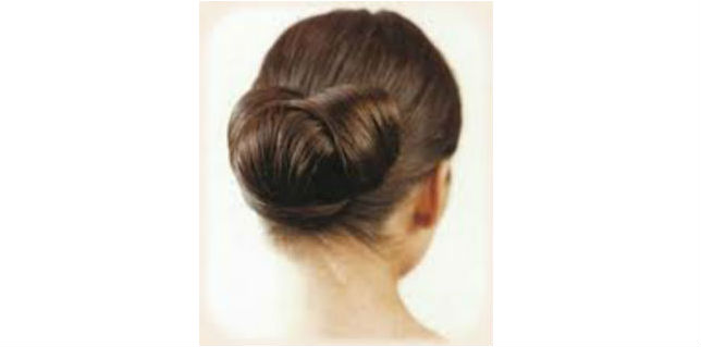 Easy and Simple Chignon Bun