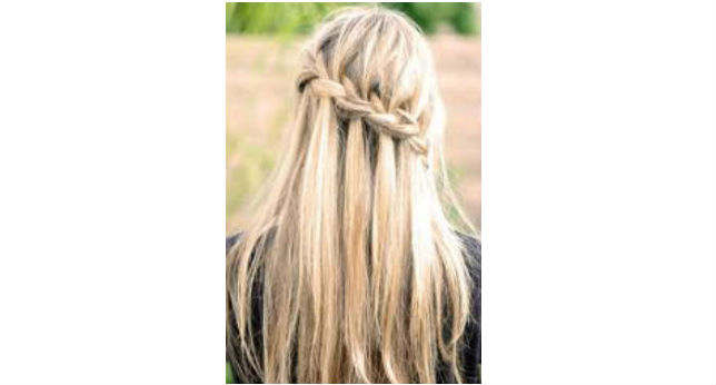 Half-Up French Braid