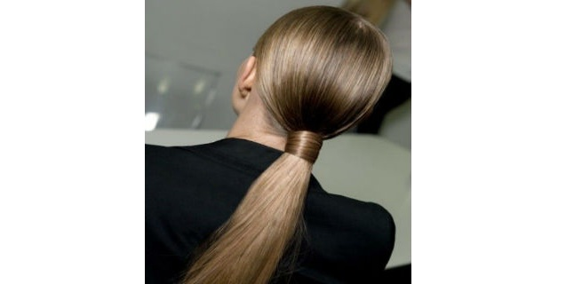 Simple Polished Ponytail
