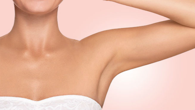 Remove Underarm Hair