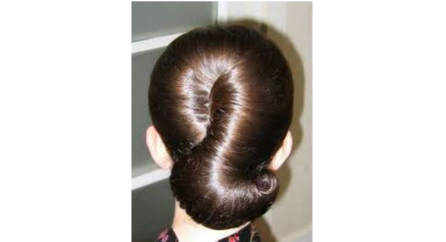 Shell-Shaped Chignon Bun