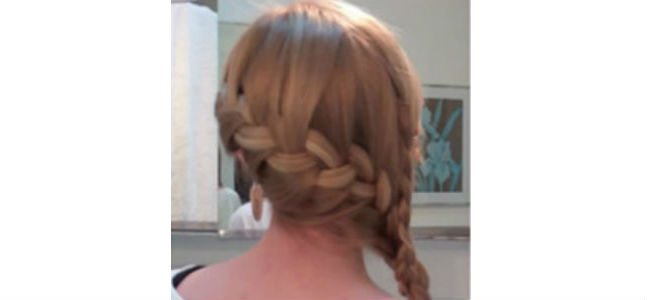 Side French Double Braid