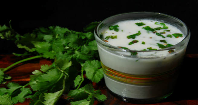 Chaas or spiced buttermilk