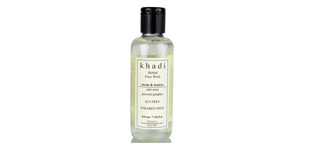 Khadi Neem and Tea Tree Face Wash