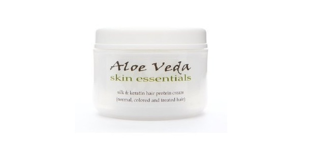 Aloe Veda Silk & Keratin Hair Protecting Cream