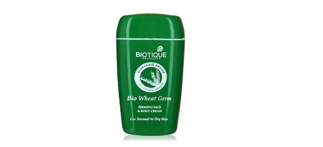 Biotique Bio Wheat Germ Firming Face and Body Cream
