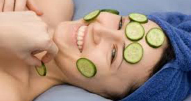 Cucumber for face redness