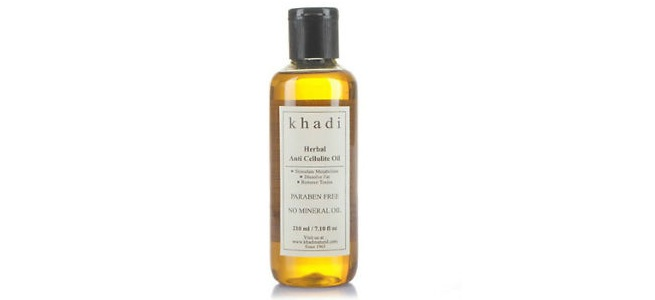 Khadi Herbals Anti Cellulite Oil