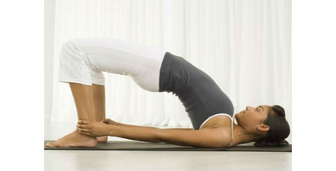Pelvic Lift Pose or Vasti Udayana