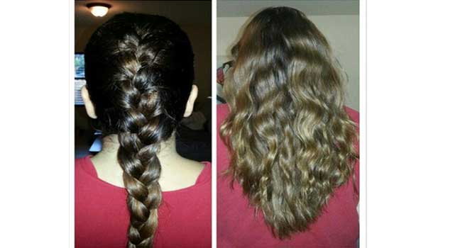 braids beachy waves