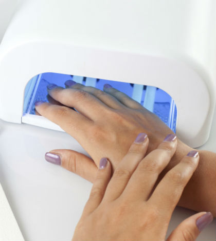 Can Nail Salon UV Lamps cause Cancer ?