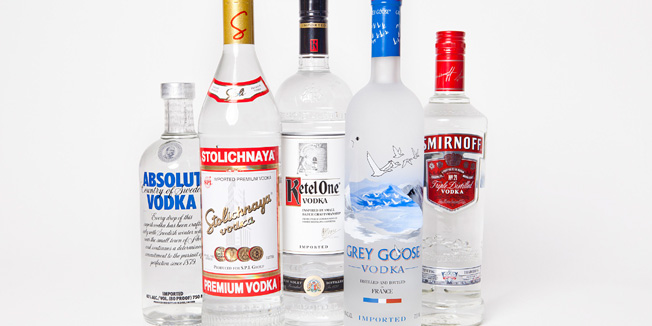 Vodka for Skin and Hair