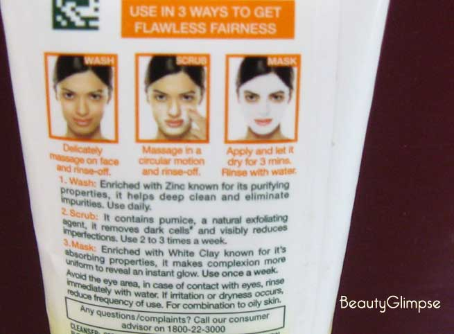Garnier White Complete 3-in-1 Fairness Facial