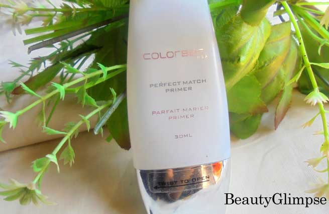 Colorbar Perfect Match Primer - Review
