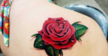 Unique Rose Tattoos for Women