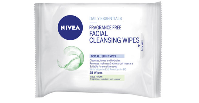 Nivea Daily Essential Wipes