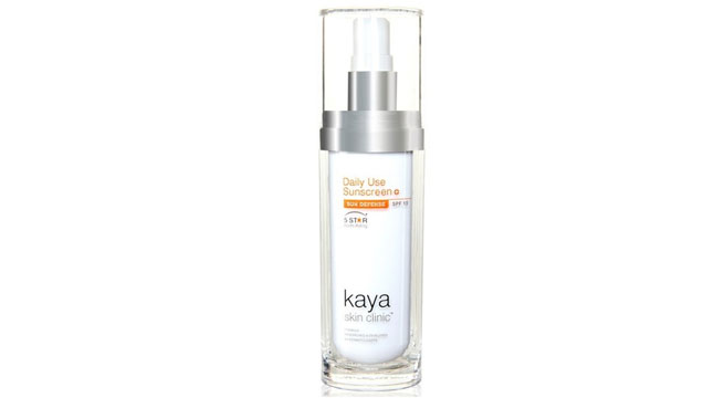 Kaya Daily Use Sunscreen with SPF 15