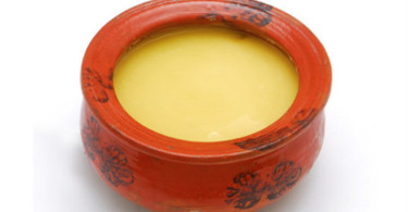 Ghee and Dry Hair
