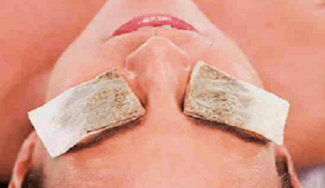 beauty tricks to do with tea bags