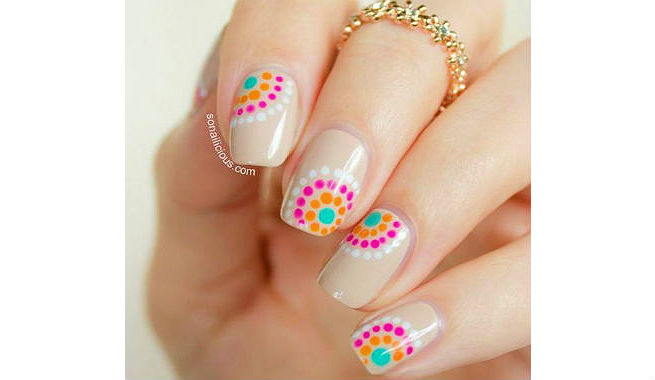 5 Simple Yet Adorable Nail Art Ideas By Using A Toothpick