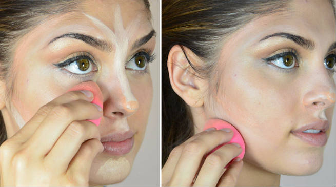 Right Way Of Using The Blending Sponge